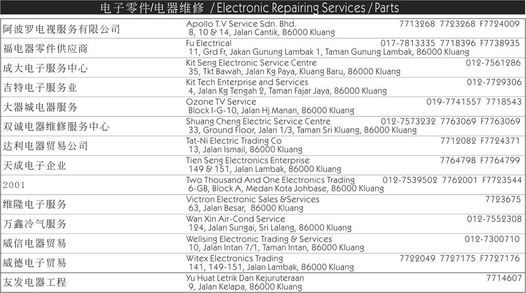 241 electronic repair